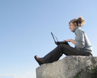 Would you take your laptop backpacking?