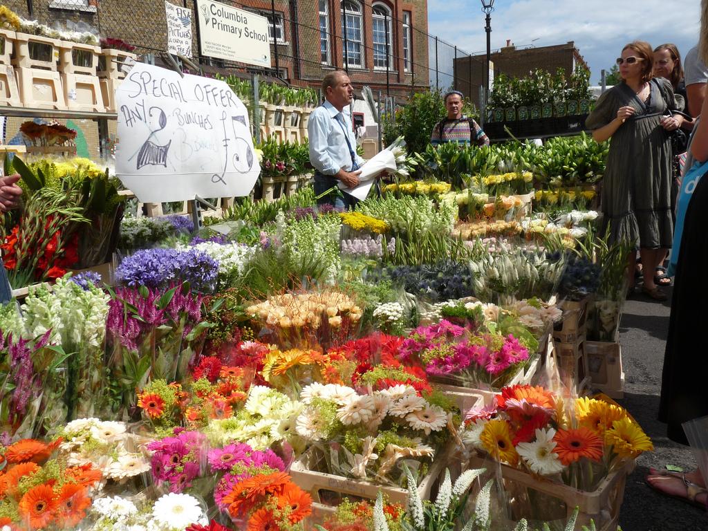 East London Food Market Sunday