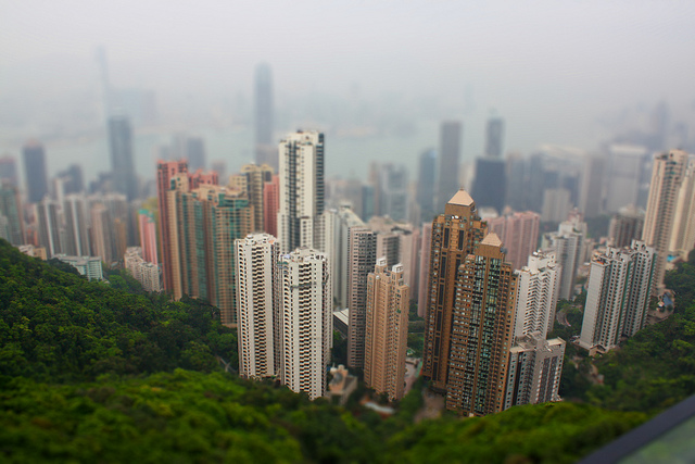 Hong Kong, Tilt and Shift