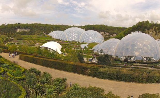 View of the Eden Project