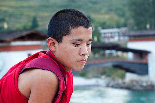 Monk Portrait