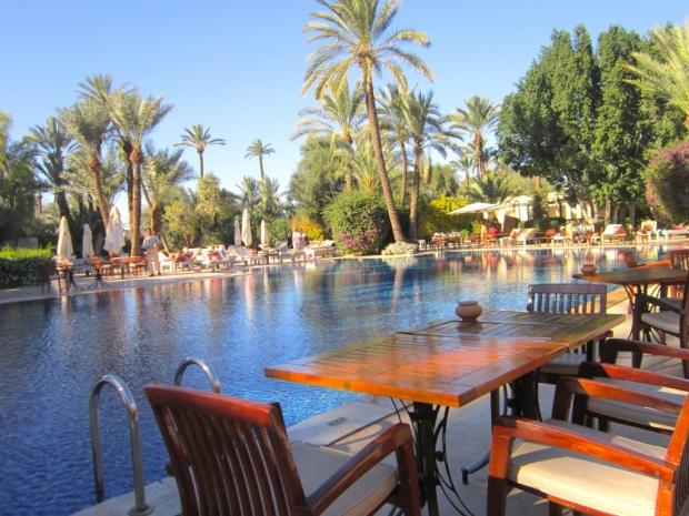 Marrakech Club Med Pool Side