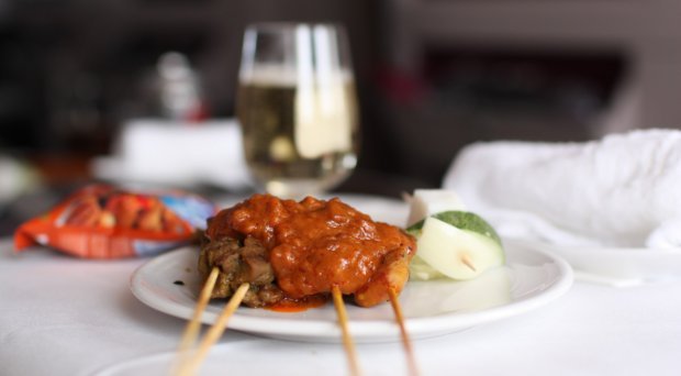 Malaysia Airlines Satay