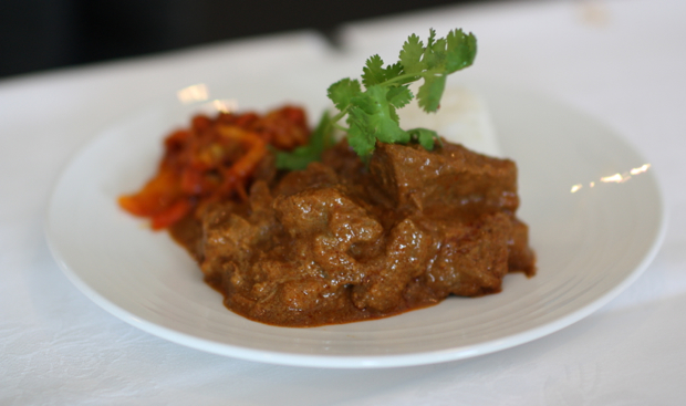 Malyasian beef dish