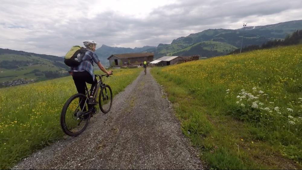 mountain biking Tirol
